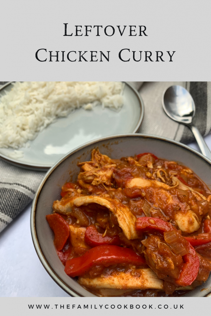 Leftover Chicken Curry.