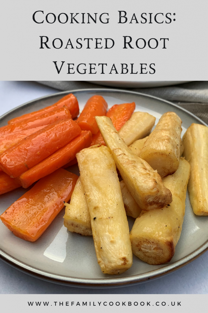 Cooking Basics: Roasted Root Vegetables.