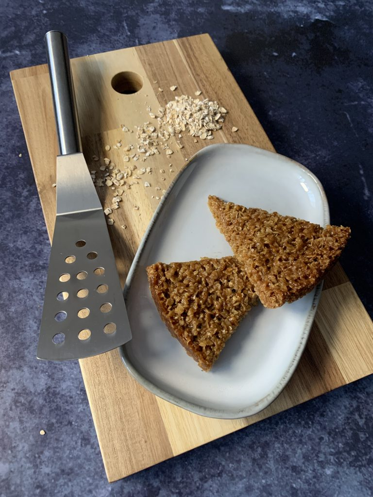Delicious but simple flapjacks